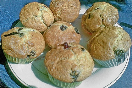 Mile high Blueberry Muffins 147