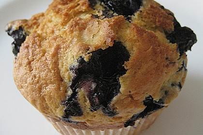 Mile high Blueberry Muffins 75