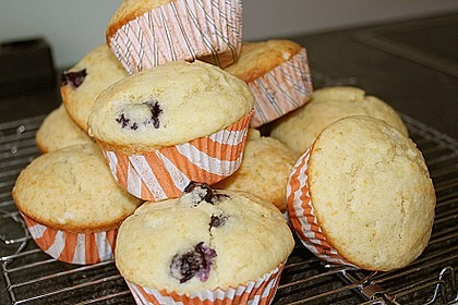 Mile high Blueberry Muffins 87