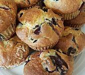 Mile high Blueberry Muffins (Bild)