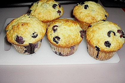 Mile high Blueberry Muffins 62