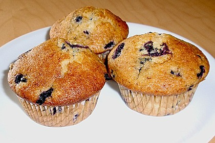 Mile high Blueberry Muffins 22