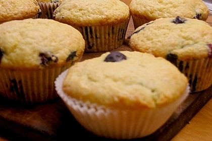 Mile high Blueberry Muffins 73