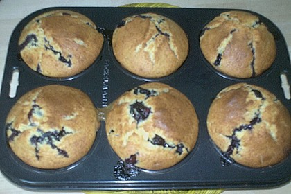 Mile high Blueberry Muffins 164
