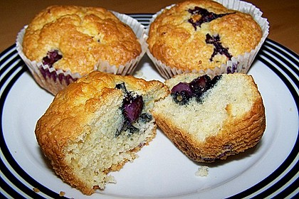 Mile high Blueberry Muffins 38