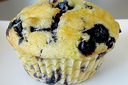 Mile high Blueberry Muffins 4