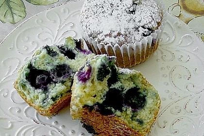 Mile high Blueberry Muffins 58