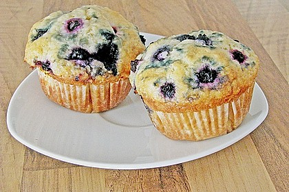 Mile high Blueberry Muffins 33