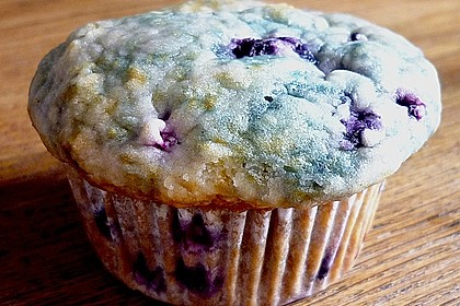 Mile high Blueberry Muffins 110