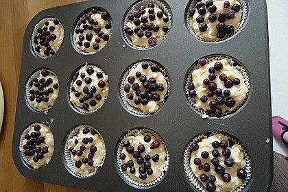 Mile high Blueberry Muffins 119