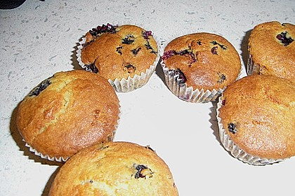 Mile high Blueberry Muffins 139