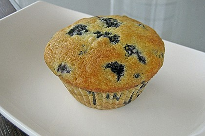 Mile high Blueberry Muffins 27
