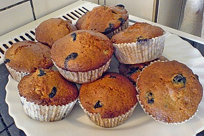 Mile high Blueberry Muffins 111