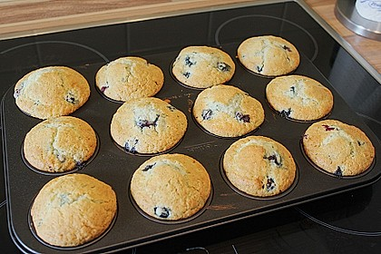 Mile high Blueberry Muffins 162