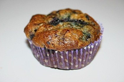 Mile high Blueberry Muffins 181