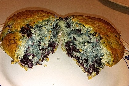 Mile high Blueberry Muffins 138