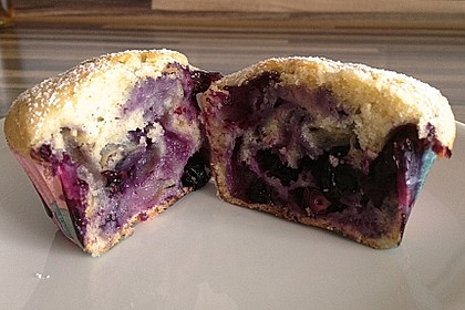 Mile high Blueberry Muffins 117