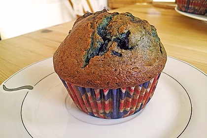 Mile high Blueberry Muffins 106