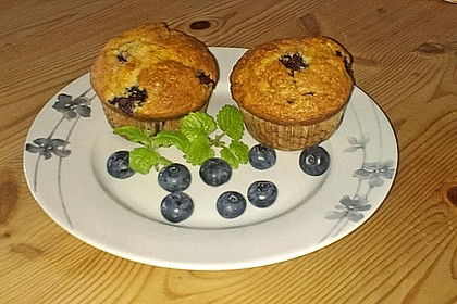 Mile high Blueberry Muffins 79
