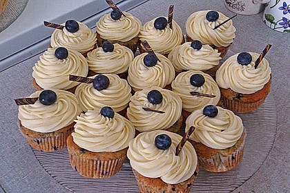 Mile high Blueberry Muffins 6