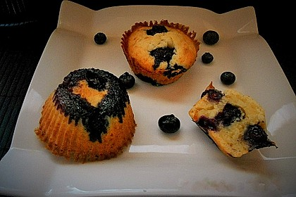 Mile high Blueberry Muffins 81