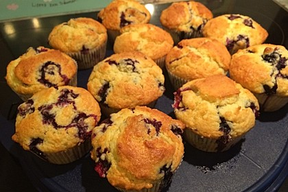 Mile high Blueberry Muffins 52