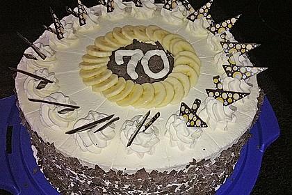 7 - Jahres - Torte 1