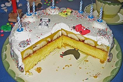 7 - Jahres - Torte 9