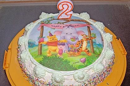 7 - Jahres - Torte