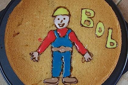 Bob der Baumeister - Torte 10