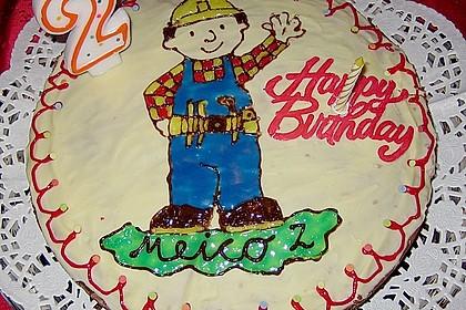 Bob der Baumeister - Torte