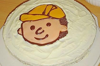 Bob der Baumeister - Torte 13