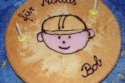 Bob der Baumeister - Torte 21