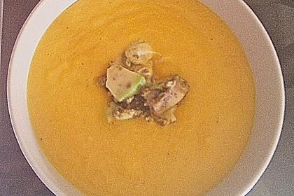Möhrensüppchen mit Ingwer und Avocado 37