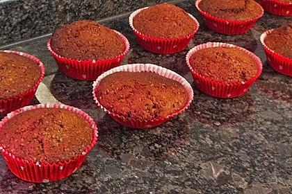Schoko - Nuss Muffins 3