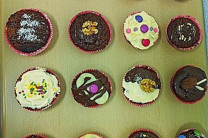 Schoko - Nuss Muffins 11