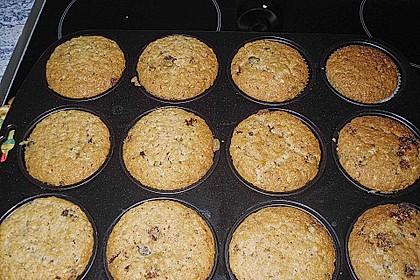 Schoko - Nuss Muffins 10