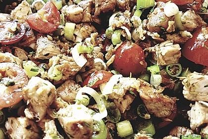 Scharfer Cajun - Puten - Salat 8