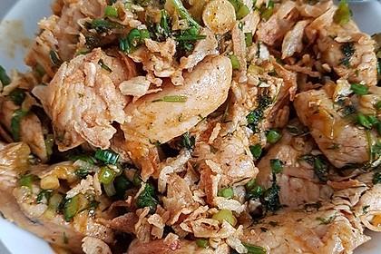 Scharfer Cajun - Puten - Salat 5
