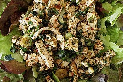 Scharfer Cajun - Puten - Salat 3