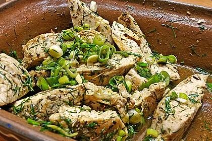 Scharfer Cajun - Puten - Salat 4