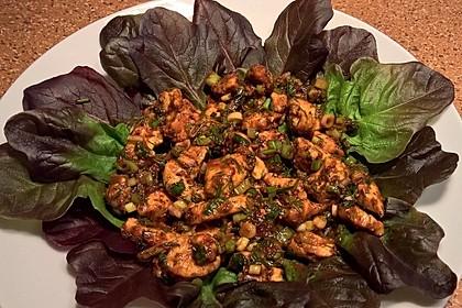 Scharfer Cajun - Puten - Salat