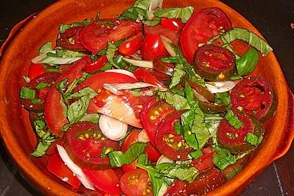 Rammsteins Tomatensalat mediterran