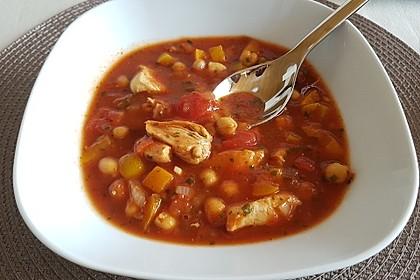 Afrikanische Tomatensuppe (Bild)