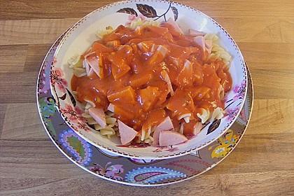 Tomatensoße wie aus der DDR Schulküche (Bild)