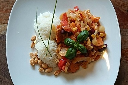 Afrikanischer Erdnusseintopf 7