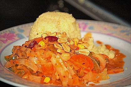 Afrikanischer Erdnusseintopf 11