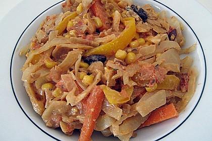 Afrikanischer Erdnusseintopf 60