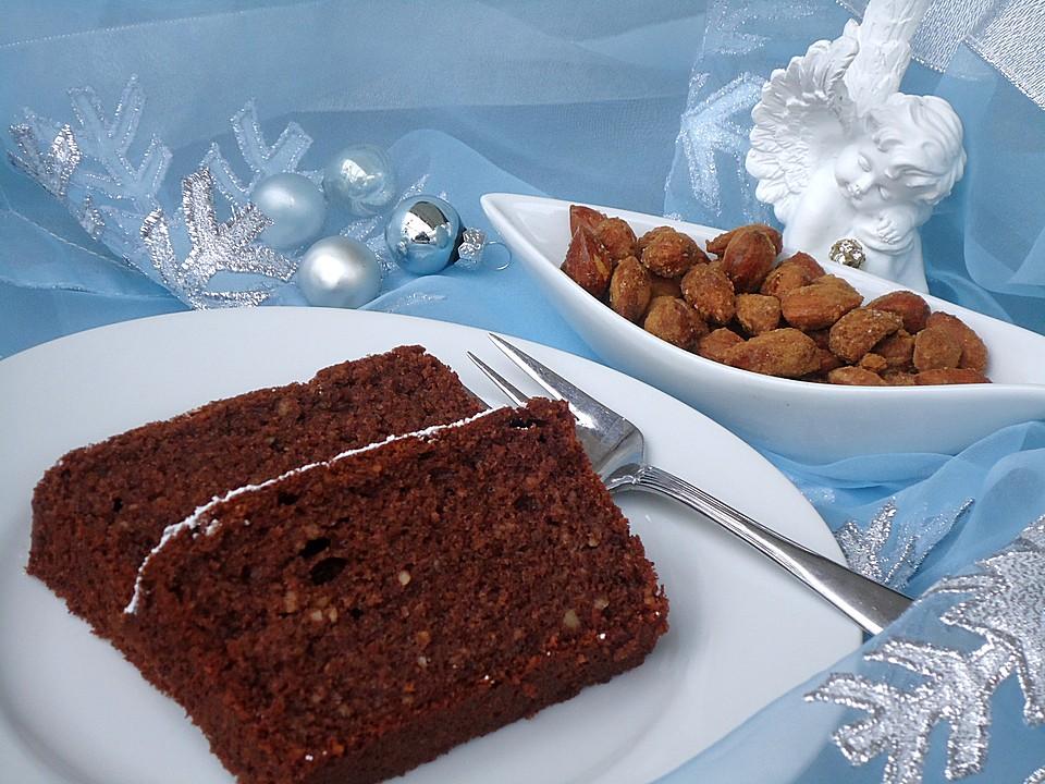 Gluhweinkuchen Mit Gebrannten Mandeln Von Engelchen23 Chefkoch De