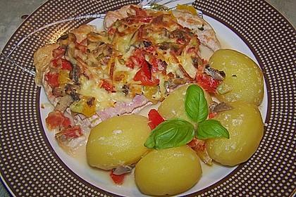 Fettarme Ofenschnitzel 3